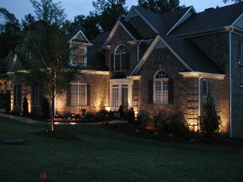 Outdoor and landscape lighting macinnis electric middleton ma landscape lighting makes a striking first impression aloadofball Images